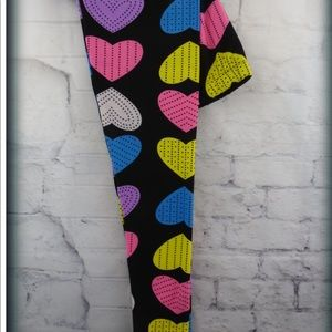 Mommy And me valentine day leggings sets